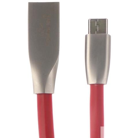 Cablexpert Кабель USB 2.0 CC-G-USBC01R-1M AM/<wbr>Type-C, серия Gold, длина 1м, красный, блистер