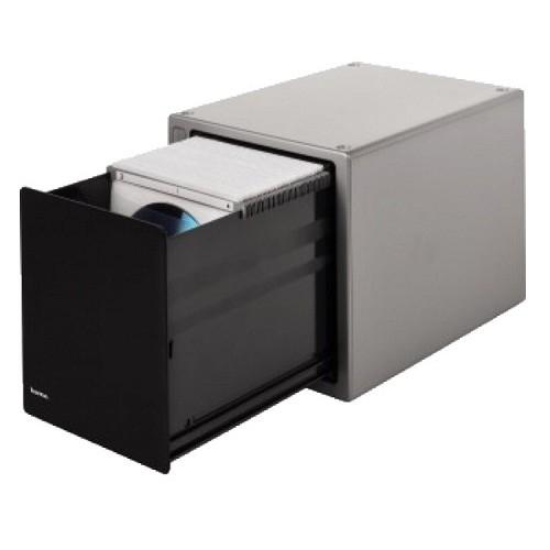 HAMA Коробка на 80CD/<wbr>DVD H-48318 Magic Touch серебристый [825764]