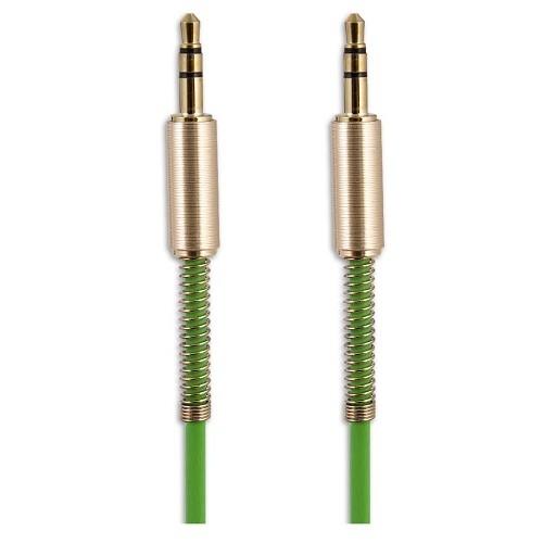 Belsis Кабель Jack 3.5 mm - Jack 3.5 mm,  вилка - вилка, 1.0 м, зеленый, стерео (BS3018)