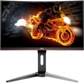 "LCD AOC 24"" C24G1 Black-Red VA изогнутый LED 1920x1080 1ms 144Hz 16:9 178°/<wbr>178° 250cd HDMI DisplayPort"