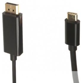 VCOM CU422C-1.8M Кабель-адаптер USB 3.1 Type-Cm --> DP (m) 3840x2160@60Hz, 1,8m VCOM < CU422C-1.8M>
