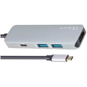 VCOM CU429M Кабель-адаптер USB3.1 Type-CM--> HDMI+2*USB3.0+PD charging docking space VCOM < CU429M>