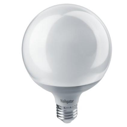 Navigator 14165 Светодиодная лампа NLL-G120-18-230-4K-E27