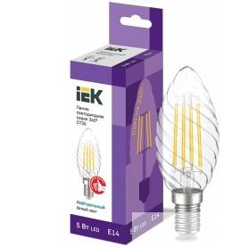 Iek LLF-CT35-5-230-40-E14-CL Лампа LED CT35 свеча вит. 5Вт 230В 4000К E14 серия 360°