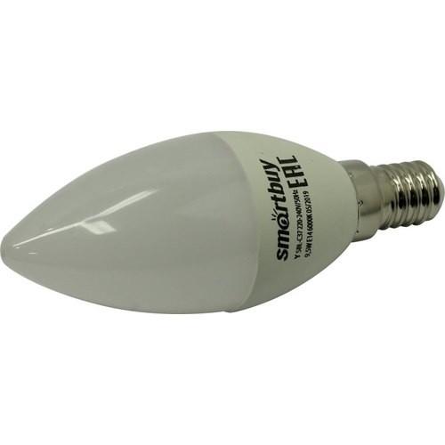 Smartbuy SBL-C37-9_5-60K-E14 Светодиодная (LED) Лампа Smartbuy-C37-9,5W/<wbr>6000
