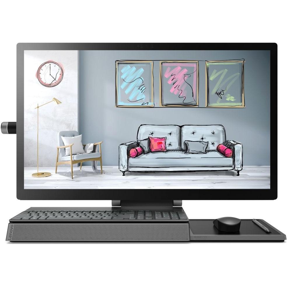 """Lenovo Yoga A940-27ICB [F0E50013RK] grey 27"""" UHD TS i5-8400/<wbr>8Gb/<wbr>2Tb+256Gb SSD/<wbr>RX560 4Gb/<wbr>W10/<wbr>k+m"""