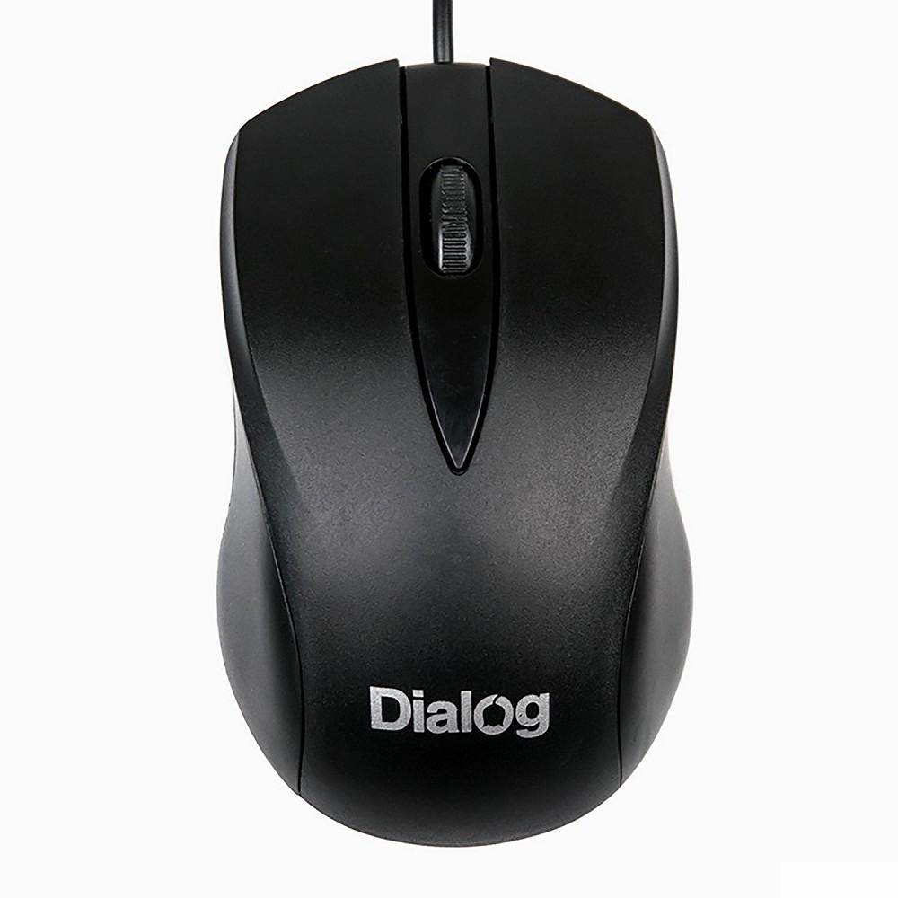 Мышь MOC-15U Dialog Comfort Optical - 3 кнопки + ролик прокрутки, USB