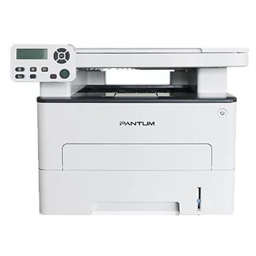 Pantum M6700D МФУ лазерное, монохромное, двусторонняя печать, копир/<wbr>принтер/<wbr>сканер (цвет 24 бит), 30 стр/<wbr>мин, 1200 x 1200 dpi, 256Мб RAM, лоток 250 стр, USB, серый корпус