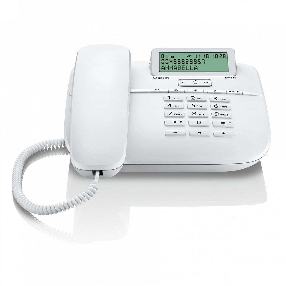 Gigaset [S30350-S212-S322] DA611 white