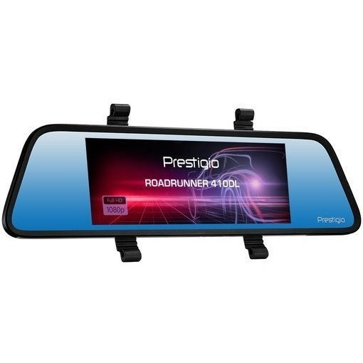 Видеорегистратор Prestigio RoadRunner 410DL черный 12Mpix 1080x1920 1080p 120гр. внутренняя память:64Mb SSC8336
