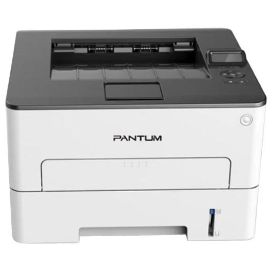 Pantum P3300DW Принтер лазерный, монохромный, А4, 33стр/<wbr>мин, 1200 х 1200 dpi, 256MB RAM, лоток 250 листов, USB, Wi-Fi, серый корпус