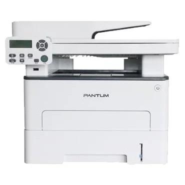 Pantum M7100DN/<wbr>RU МФУ лазерное, монохромное, двусторонняя печать, автоподача, копир/<wbr>принтер/<wbr>сканер (цвет 24 бит), 33 стр/<wbr>мин, 1200 x 1200 dpi, 256Мб RAM, лоток 250 стр, USB, RJ45, серый корпус