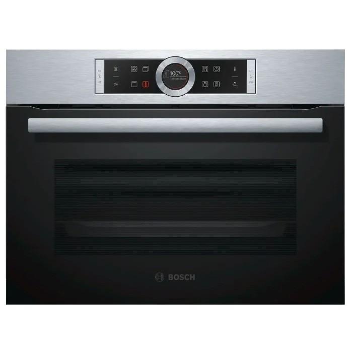 Духовой шкаф Электрический Bosch CBG633NS3 нержавеющая сталь/<wbr>черный