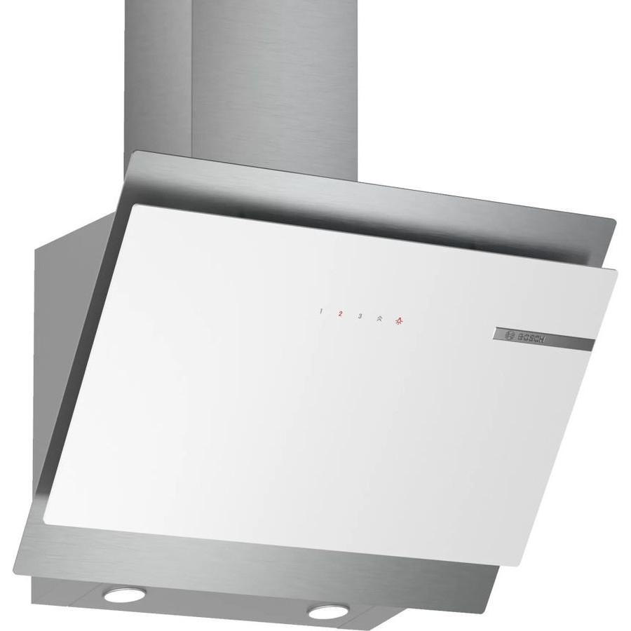 Вытяжка каминная Bosch DWK68AK20T белый/<wbr>нержавеющая сталь управление: сенсорное (1 мотор)