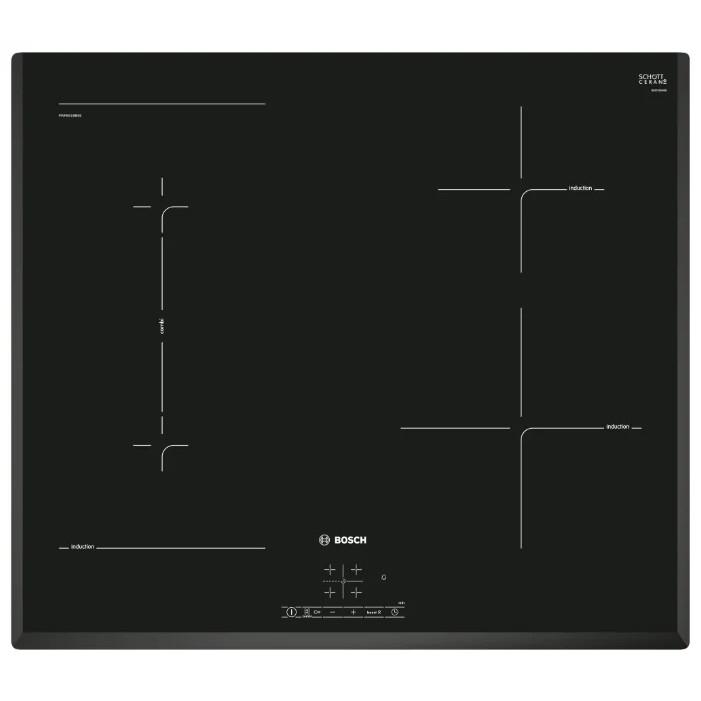 Индукционная варочная поверхность Bosch PWP651BB5E черный