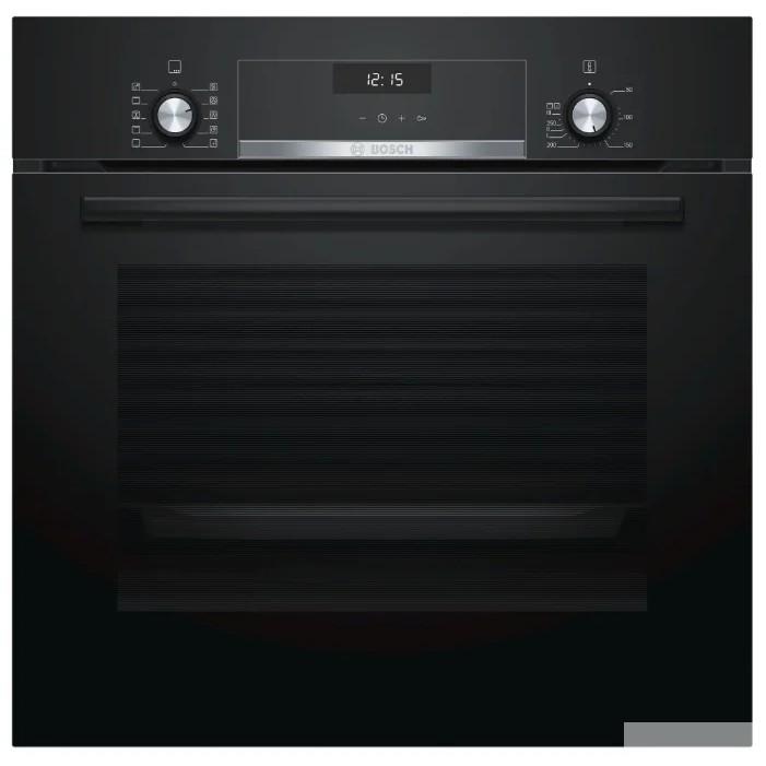 РОЗНИЧНЫЙ ЭКСКЛЮЗИВ!! Serie 6, духовой шкаф электрический, 60 см, 66 л, черный, класс энергоэффективности А, 8 режимов, LCD-дисплей, галогенное освещение, самоочистка EcoClean