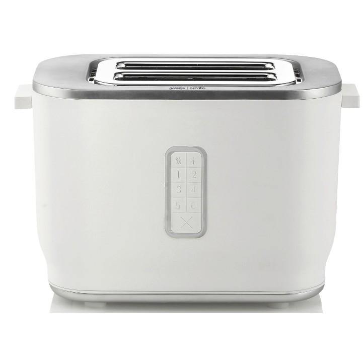 Тостер GORENJE/ Количество режимов нагрева: 6  Автоматическое поднятие тостов  Экстраподнятие для извлечения небольших ломтиков