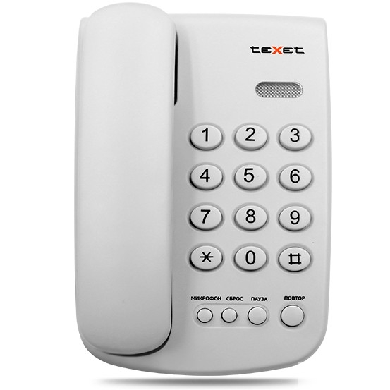 TEXET TX-241 светло-серый