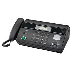 Panasonic KX-FT984RU-B (черный) термобум. , АОН, обрезка, пам.100 ном. , автоподатчик 10 л. , монитор