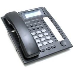 Panasonic KX-T7735RUB (черный) Системный телефон