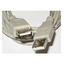 Gembird PRO CCF-USB2-AMAF-6 USB 2.0 кабель удлинительный 1.8м AM/<wbr>AF  позол. конт. , фер. кол. ,  пакет