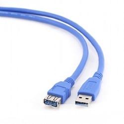 Gembird PRO CCP-USB3-AMAF-6, USB 3.0 кабель удлинительный 1.8м AM/<wbr>AF  позол. контакты, пакет