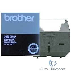 Brother 1032 Лента многоразовая нейлоновая ,Black{AX-410, Black}