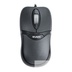 Keyboard SVEN Standard 310 Combo black SV-03100310UB USB (клавиатура + мышь)