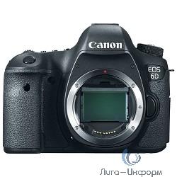 """Canon EOS 6D черный {20.2Mpix 3"""" 1080p Full HD SDXC Li-ion (без объектива)}"""