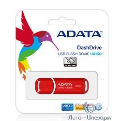 A-DATA Flash Drive 32Gb UV150 AUV150-32G-RRD {USB3.0, Red}