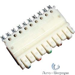 Hyperline 110C-M-5P 5-и парный 110 модуль, категория 5e
