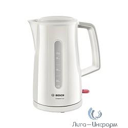 BOSCH TWK3A011 Чайник, белый, 2400Вт, 1,7 л