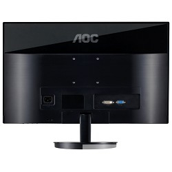 "LCD AOC 23"" I2369V/ (01) серебристый/<wbr>черный IPS LED 1920x1080 5ms 178°/<wbr>178° 16:9 50M:1 250cd D-Sub DVI"