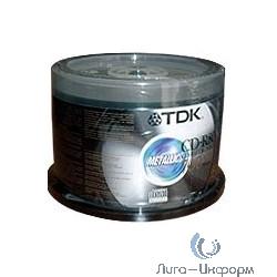 75000028268/CD-R80CBA50 CD-R  Диски  TDK 50 шт., 700 Mb 48X/52X, Cake Box  [t18770]