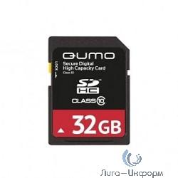 SecureDigital 32Gb QUMO QM32GSDHC10U1 {SDHC Class 10, UHS-I}
