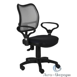 Бюрократ Ch-599AXSN/TW-11 Кресло (спинка черная сетка, сиденье черный TW-11) [664000]