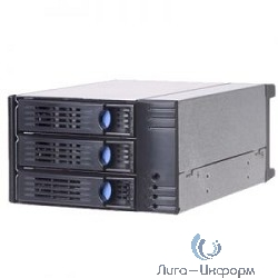 SK32303(T2)/H01 HDD корзина Storage Kit, 3x3,5HDD hotSWAP в 2x5,25, 6G SAS/SATAII,BK (SK32303(T2)/H01)