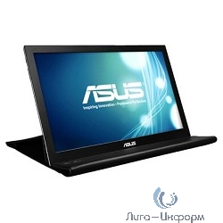 "ASUS LCD 15.6"" (AMS-) MB168B Silver/Black Дополнительный экран {LED, 1366 x 768, 12ms, 16:9, 50M:1, 90/65, 250cd, USB} [90LM00I0-B01170]"