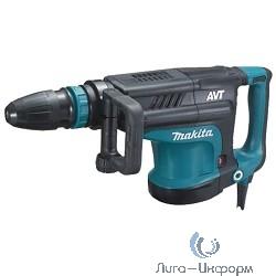 Makita HM1213C Молоток отбойный SDS-max [HM1213C] {1510Вт,25.5Дж,950-1900у\м,10.3кг,чем,АВТ,м\функц бок рукоятка,плавный пуск}