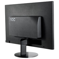 "LCD AOC 23.6"" E2470Swda/ (01) черный TN LED 1920x1080 5 мс 170°/<wbr>160° 16:9 20M:1 250cd D-Sub DVI"