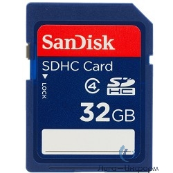 SecureDigital 32Gb SanDisk SDSDB-032G-B35 {SDHC Class 4}