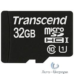 Micro SecureDigital 32Gb Transcend TS32GUSDCU1 {MicroSDHC Class 10 UHS-I}