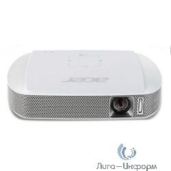 Acer C205 FW [MR.JH911.001] {VGA/DLP/LED/150 Lm/1000:1/30000 Hrs/HDMI(MHL)/2Wx2/Battery/Wi-Fi via Adapter(option)/302g}