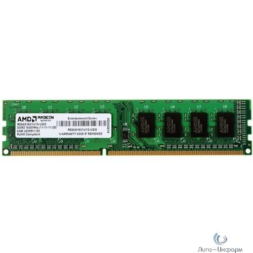 AMD DDR3 DIMM 4GB (PC3-12800) 1600MHz R534G1601U1S-UO/2S-UO OEM
