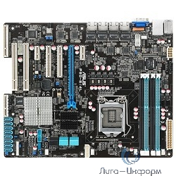 Asus Материнская плата P9D-E / 4L (RTL) { LGA1150 <C224> PCI-E+SVGA+4xGbLAN SATA RAID ATX 4DDR-III }