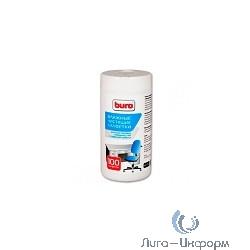 BURO BU-TSURL [817442] Туба с чистящими салфетками, для поверхностей, 100 шт.