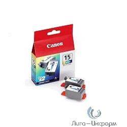 Canon BCI-15Color  8191A002 Картридж Canon BCI-15 Color Twin Pack {Чернильница для BJ-i70}  (русифицированная упаковка)