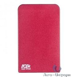 """AgeStar 3UB2O1 Red Внешний корпус 2,5"""" SATA AgeStar 3UB2O1 (Red) USB3.0"""