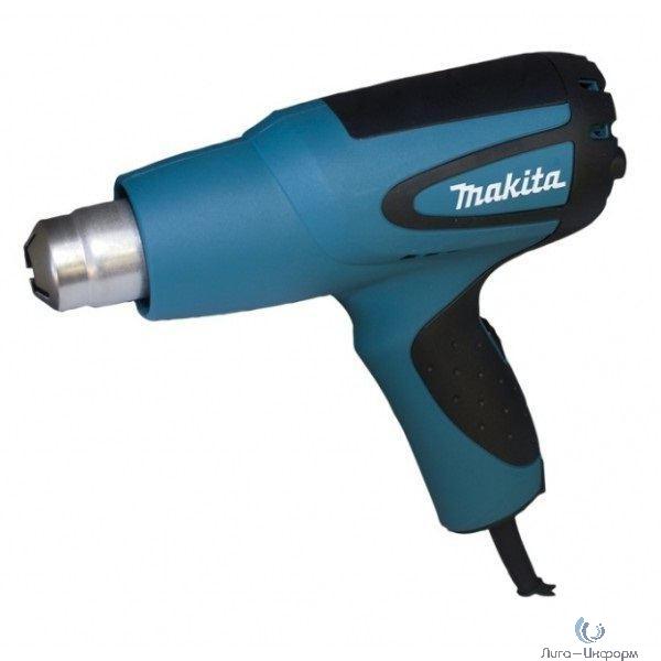 Makita HG5012 Пистолет горячего воздуха [HG5012] {1600Вт,350\500л\м,350-500грС,0.58кг,чем}