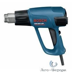 Bosch GHG 660 LCD Строительный фен [0601944302] { 2300 Вт, 50-660*С, 250-500л/мин, LCD-инд. 1кг, кейс + НАСАДКИ }